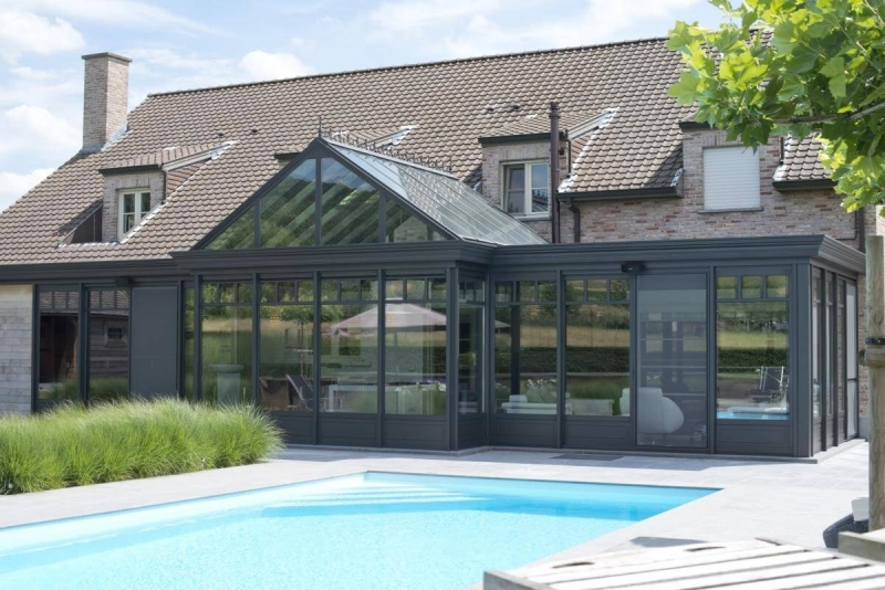 Poolhouse in Wannegem-Lede